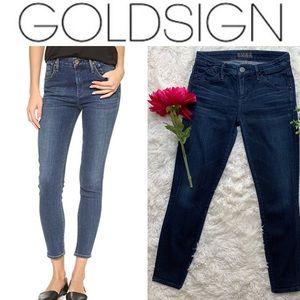 Goldsign Midrise Pure Skinny Jean